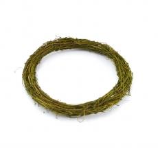 Coronita naturala verde 25cm