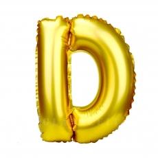 Balon gonflabil auriu 55 cm litera D