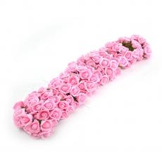 Set 108buc mini trandafiri de spuma, roz