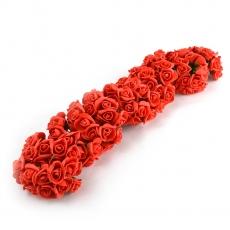 Set 108buc mini trandafiri de spuma, rosu