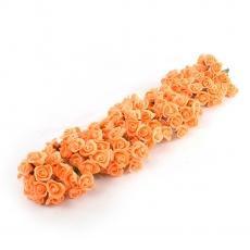 Set 108buc mini trandafiri de spuma, somon