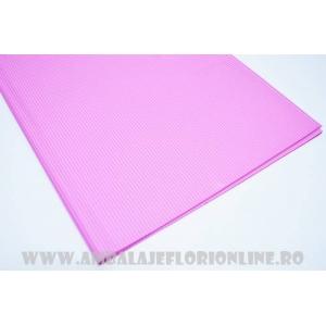 Ambalaje Flori ONLINE vinde Celofan dungi roz la pretul de 9.99 lei