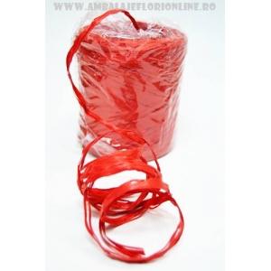 Ambalaje Flori ONLINE vinde Rafie rosie la pretul de 19.9 lei