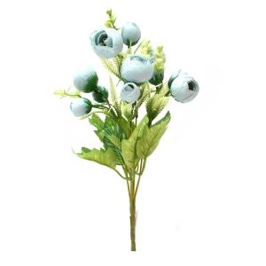 Buchet ranunculus bleo - ambalaje si accesorii florale