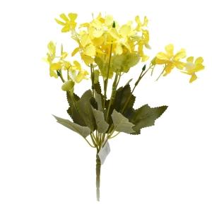 Buchetel Gypsophila Repens Rosea galben - ambalaje si accesorii florale