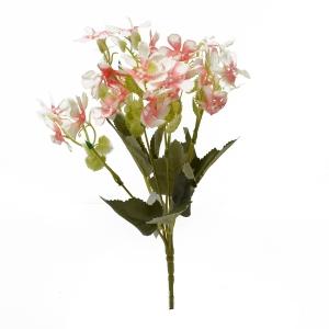 Buchetel Gypsophila Repens Rosea alb cu rosu - ambalaje si accesorii florale