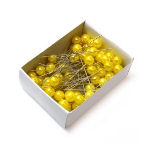 Ace 10mm x 6.5cm 50buc galben - ambalaje si accesorii florale