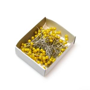 Ace 5.5mm x 5.5cm 144buc galben - ambalaje si accesorii florale