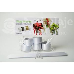 Bratara Wrap Wristlets Alba - ambalaje si accesorii florale
