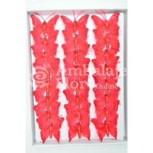Ambalaje Flori ONLINE vinde Set fluturi 5cm - 24buc. Z3 la pretul de 25.5 lei