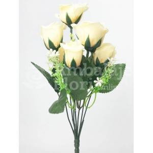 Mini Buchet 7 Trandafiri Crem