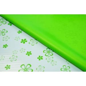 Celofan 2 fete Trifoi - Verde