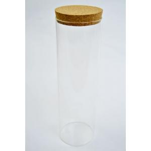 Cilindru Sticla  28cm x 8cm