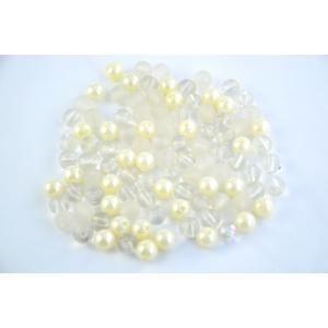 Ambalaje Flori ONLINE vinde Perle Color Mixte Albe la pretul de 5.9 lei