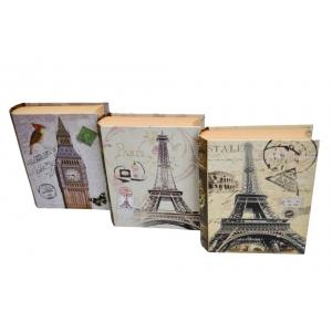 Ambalaje Flori ONLINE vinde Cutii Set 3 Carte Mica Towers la pretul de 27.99 lei