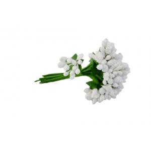 Stamine Artificiale Albe - Set 144 buc. - ambalaje si accesorii florale