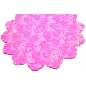 Celofan Rotund 40CM Trandafiri Roz