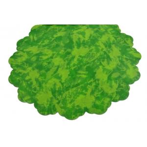 Celofan Rotund 50CM Patat Verde cu Verde Deschis