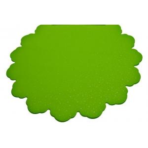 Ambalaje Flori ONLINE vinde Celofan Rotund 60CM Buline Verde Deschis la pretul de 26.9 lei
