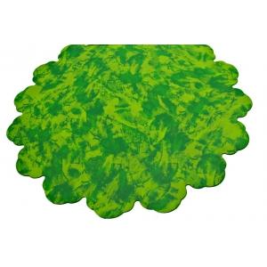 Celofan Rotund 60CM Patat Verde cu Verde Deschis