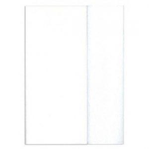 Hartie creponata Gloria Doublette alb-alb murdar, cod 3300