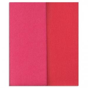 Ambalaje Flori ONLINE vinde Hartie creponata Gloria Doublette capsuna-roz deschis, cod 3311 la pretul de 5.99 lei
