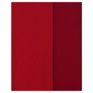 Hartie creponata Gloria Doublette rosu-rosu carmin, cod 3331