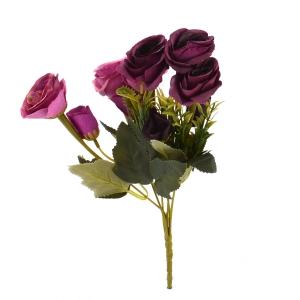 Buchet 10 Trandafiri Vintage Siclam/Marsalla