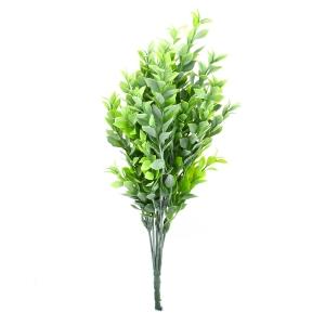 Buchet Buxus Verde cu Alb
