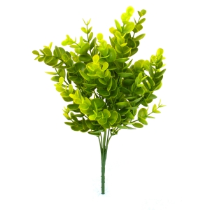 Buchet Eucalipt Mini Verde cu Galben