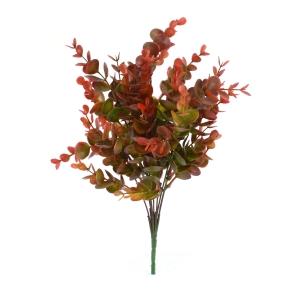Buchet Eucalipt Mini Verde cu Rosu