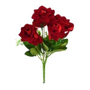Buchet Mini 6 Trandafiri Rosu