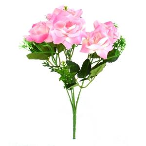 Buchet Mini 6 Trandafiri Roz