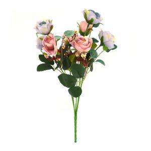 Mini Buchet 10 Trandafiri Liliac