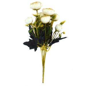 Mini Buchet Ranunculus Vintage Alb