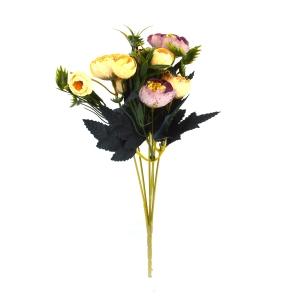 Mini Buchet Ranunculus Vintage Frez cu Liliac - ambalaje si accesorii florale