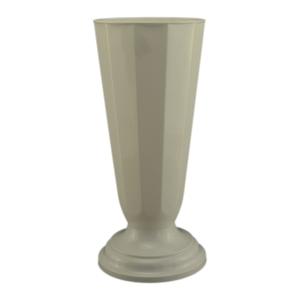 Ambalaje Flori ONLINE vinde Vaza podea16x38 cm alb la pretul de 14.99 lei