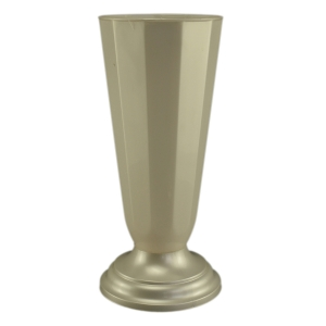 Ambalaje Flori ONLINE vinde Vaza podea16x38 cm alb perlat la pretul de 14.99 lei