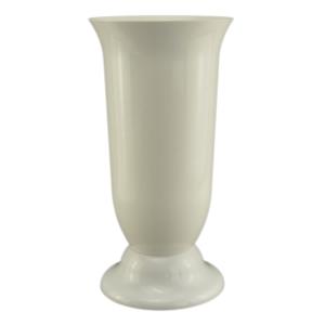 Ambalaje Flori ONLINE vinde Vaza podea 15x30 cm alb perlat la pretul de 10.99 lei