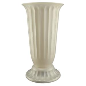 Vaza podea 27x50 cm alb perlat