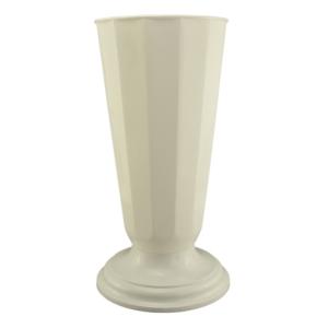 Vaza podea 23x49 cm alb