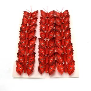 Ambalaje Flori ONLINE vinde Set fluturi 5cm - 24buc. Z10 la pretul de 25.5 lei