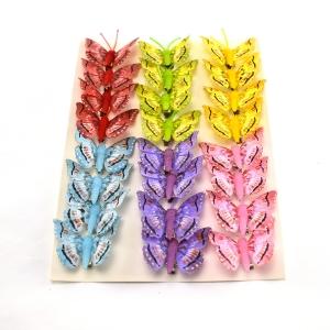 Ambalaje Flori ONLINE vinde Set fluturi 5cm - 24buc. Z14 la pretul de 25.5 lei