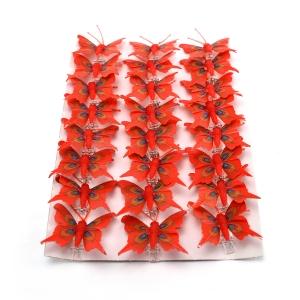 Ambalaje Flori ONLINE vinde Set fluturi 5cm - 24buc. Z15 la pretul de 25.5 lei