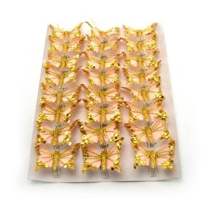 Ambalaje Flori ONLINE vinde Set fluturi 5cm - 24buc. Z17 la pretul de 25.5 lei