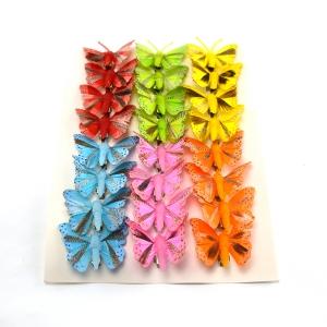 Ambalaje Flori ONLINE vinde Set fluturi 5cm - 24buc. Z23 la pretul de 25.5 lei