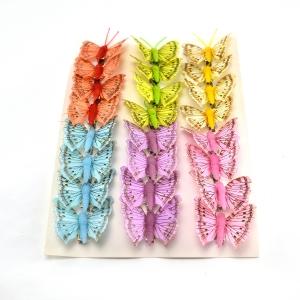 Ambalaje Flori ONLINE vinde Set fluturi 5cm - 24buc. Z31 la pretul de 25.5 lei