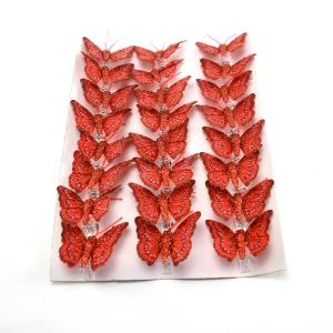 Ambalaje Flori ONLINE vinde Set fluturi 5cm - 24buc. Z33 la pretul de 25.5 lei