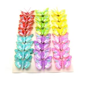 Ambalaje Flori ONLINE vinde Set fluturi 5cm - 24buc. Z36 la pretul de 25.5 lei