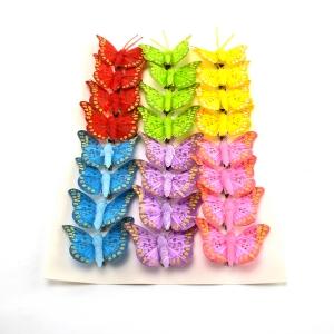 Ambalaje Flori ONLINE vinde Set fluturi 5cm - 24buc. Z39 la pretul de 25.5 lei